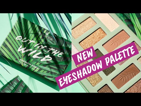 Essence Essence Out In The Wild Eyeshadow Palette Don't Stop Beleafing