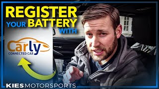 How to Change, Install, and REGISTER a BMW Battery (BMW F30, F15, F25, and more!)