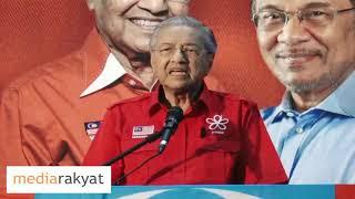 (Ucapan Penuh) Pesanan Perdana Tun Dr Mahathir Mohamad