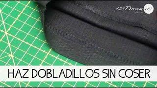 ¡Haz dobladillos sin coser!