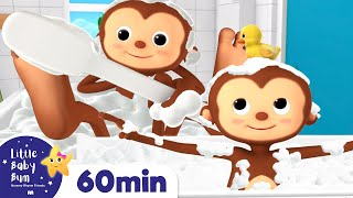 Bath Song | +More Nursery Rhymes & Kids Songs | ABCs and 123s | Little Baby Bum