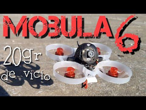 MOBULA6: un campeón de 20gr