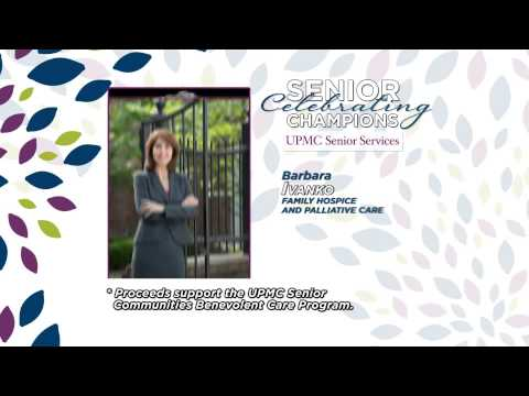 Family Hospice and Palliative Care honored as 2014 Community Champion by UPMC Senior Services