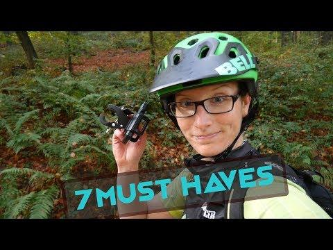 7 Must Haves fürs Fahrradfahren | Caros Lifehacks #3 | MTBTravelGirl