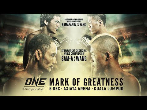 ONE Championship: MARK OF GREATNESS Weigh-Ins & Hydration Tests