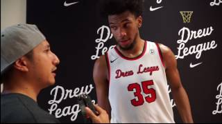 Marvin Bagley III Drew League Interview Highlights 2017 Before He Reclassified and Committed to Duke
