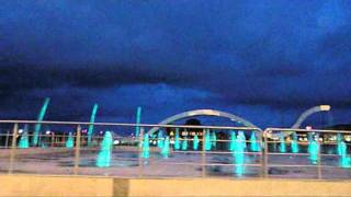 preview picture of video 'B&N Fountains - Malabo Plaza  .wmv'