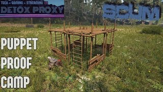 SCUM - How To Build A Puppet Proof Safe Zone