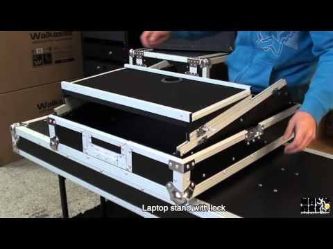 Flight Case Walkasse WM1912LTS- Rack mount mixer 19""
