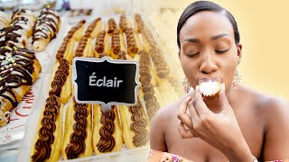 Éclairs + More Sweet Treats at Adam's Bagels in Maraval, T&T | Foodie Finds