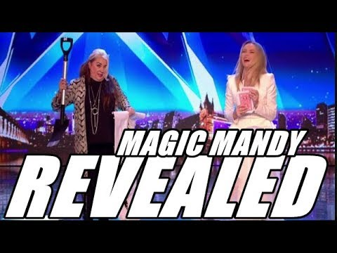 Britains got talent 2018 TRICK REVEALED Mandy Muden (видео)