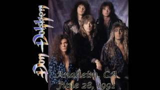 Don Dokken Anaheim, CA 6/28/1991 Full Show