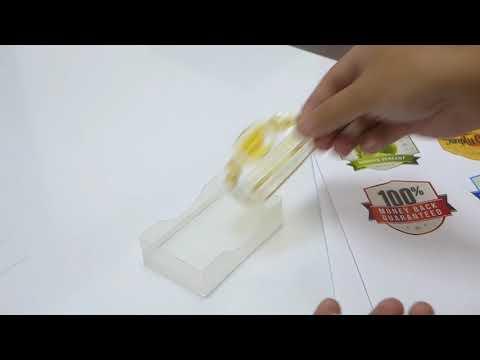 inkjet waterprof sticker transparent