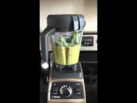 Video Vitamix Green Smoothie Recipes: Kale, Spinach & Broccoli