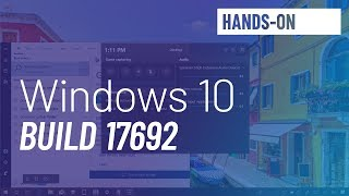 Windows 10 build 17692: New Game bar, SwiftKey, Settings, and more
