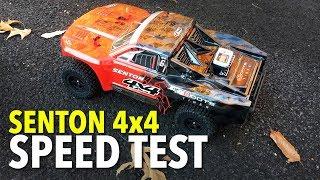 ARRMA Senton 4x4 Speed Test on 8.4V NiMh, 2S & 3S LiPo