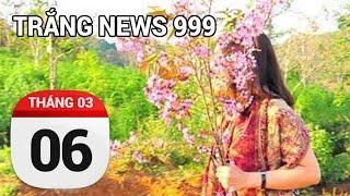 Bẻ trộm hoa...chửi ngoa phải biết | TRẮNG NEWS 999 | 06/03/2017