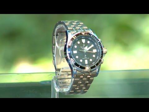 Die schöne Herren-Armbanduhr mit Funk und Solar mit Ralf Janßen (Juli 2018)
