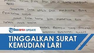 Kabur setelah Numpang Makan di Pernikahan, Korban PHK Tinggalkan Surat Permintaan Maaf
