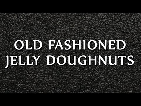 Old Fashioned Jelly Doughnuts | RECIPES | EASY TO LEARN
