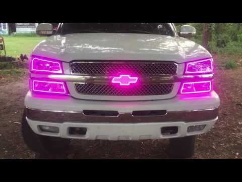 Logans Light Mods #halos #led #chevy #cateye