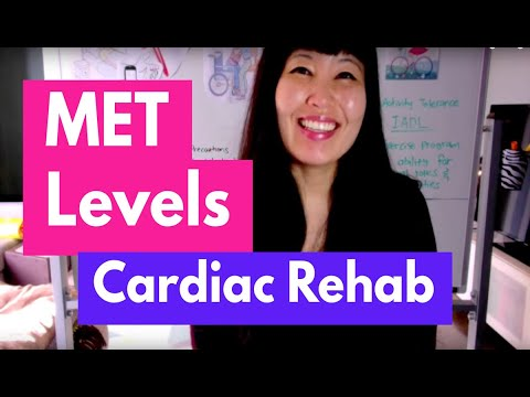 Cardiac Rehab & MET Levels