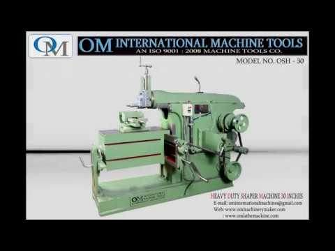 OM Brand Shaper Machine