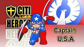 """Citi Heroes EP47 """"Captain U.S.A""""@""""Citi Heroes"""" CARtoons"""