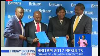 Britam holdings's international business income rises by 13%