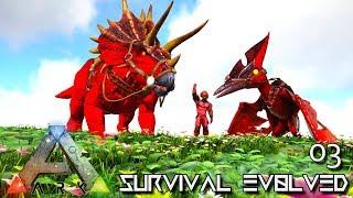 ark survival evolved ep 1 kingdaddydmac modded primal fear