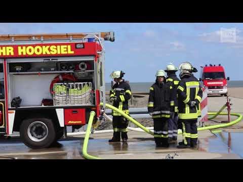 D-Schlauch-Workshop der Feuerwehr Hooksiel