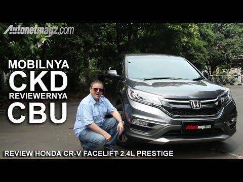 Review Honda CR-V Facelift 2.4 L Prestige Indonesia by AutonetMagz