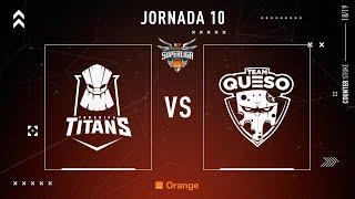 Tenerife Titans E.C. VS Team Queso | Jornada 10 | Temporada 2018/2019