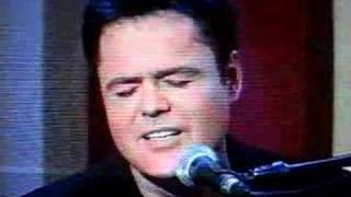 Donny Osmond sings WIMTS
