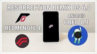 Resurrection Remix v6-0-0 Unofficial Oreo ROM For Redmi 2prime