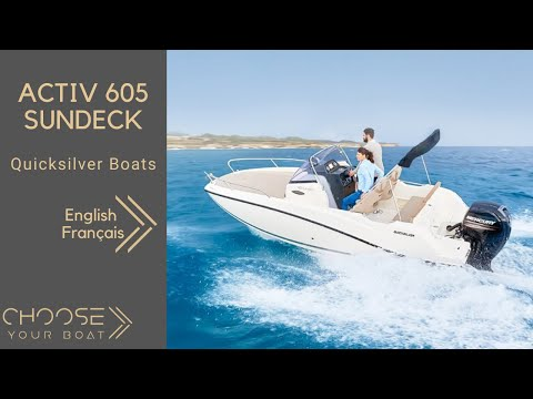 Quicksilver Activ 605 Sundeck video