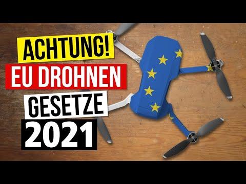 EU Drohnen Gesetze 2020 / 2021 - Wichtige Änderungen betreffen alle DJI Mavic Mini Drohnen Besitzer