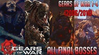 Evolution of Gears of War Final Bosses | Gears of War 1-4 (2006-2016) | HD