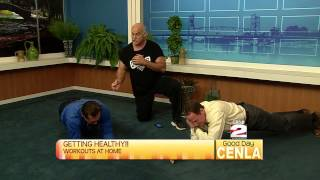Don Fields Shows Us How To Work Our Lower Backs
