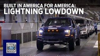 F-150 Lightning Lowdown: Built in America for America   Ford