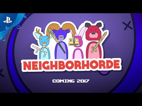 Neighborhorde - Launch Trailer | PS4 thumbnail