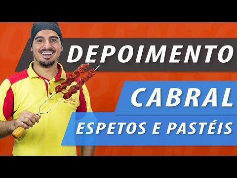 Depoimento Restaurante Cabral e Espetos e Pastel