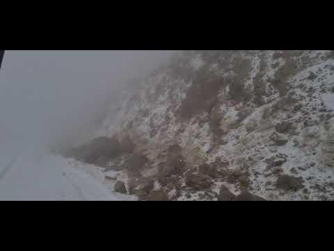 צפו: שלג החל לרדת בפסגת החרמון