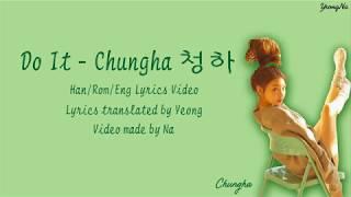 Chungha - Do it