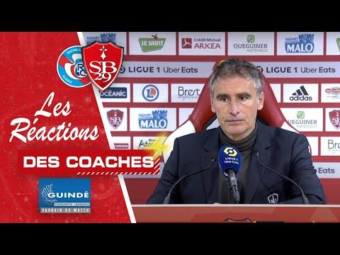 Brest - Strasbourg | La réaction des coaches