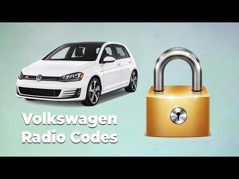 Vw Radio Code Location