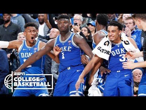 Zion Williamson, R.J. Barrett score 61 points for Duke vs. Kentucky | College Basketball Highlights