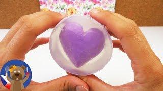 Udělej si sám dvoubarevné mýdlo | Mýdlo se srdíčkem | Nápady na dárky