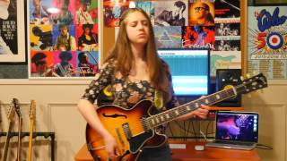 Black Magic Woman  Guitar Cover By Ayla