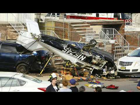 Small plane crash in Bayonne New Jersey